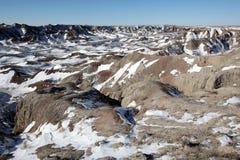 Badlands National Park in South Dakota, USA Royalty Free Stock Images