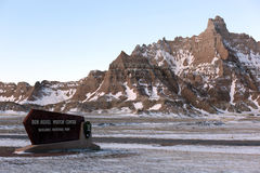 Badlands National Park in South Dakota, USA. Royalty Free Stock Photos