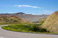 Badlands National Park, South Dakota, USA Stock Images