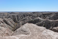 Badlands National Park, South Dakota, USA Royalty Free Stock Photos