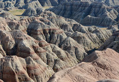 Badlands National Park, South Dakota, USA Royalty Free Stock Images