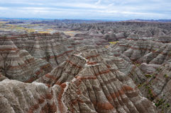 Badlands National Park, South Dakota, USA Stock Photography