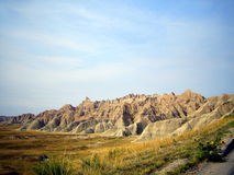 Badlands National Park in South Dakota, USA Stock Photography
