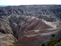 Badlands National Park in South Dakota Stock Photo