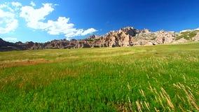 Badlands National Park USA stock footage