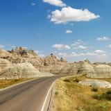 badlands norr dakota arkivfoton