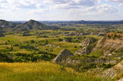 The Badlands of North Dakota Royalty Free Stock Photo
