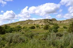 Badlands of North Dakota Royalty Free Stock Photo