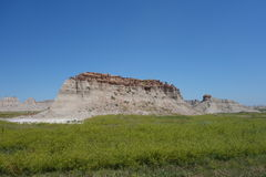 The badlands on the north side Royalty Free Stock Images