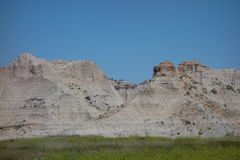 The badlands on the north side Stock Image