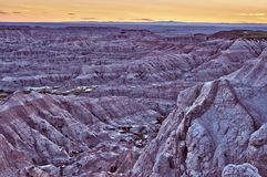 Badlands NP HDR Royalty Free Stock Photography