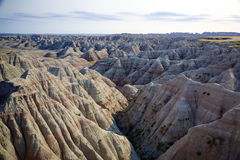 Badlands Panorama Stock Photos