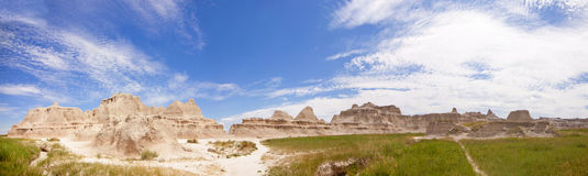 Badlands panorama Royalty Free Stock Images