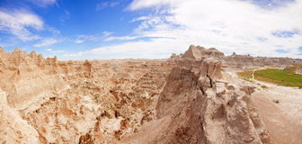 Badlands panorama Royalty Free Stock Image