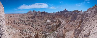 Badlands Panorama Royalty Free Stock Photography
