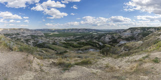 Badlands Panoramic royalty free stock images