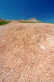 Badlands Parched Landscape Royalty Free Stock Image