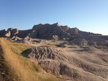 Badlands Park Narodowy Obraz Royalty Free