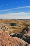 Badlands Park Narodowy Południowy Dakota USA Zdjęcia Stock