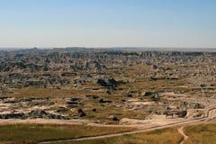 Badlands Park Narodowy Południowy Dakota USA Zdjęcie Stock