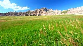 Badlands parka narodowego usa zbiory wideo