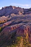 Badlands Pinnacles and Buttes Stock Images