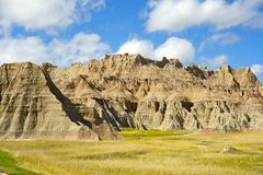 Badlands Prairie Royalty Free Stock Image