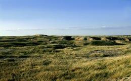 Badlands prairie Stock Images