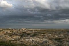 badlands södra dakota Arkivfoton