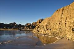 badlands södra dakota Arkivfoto