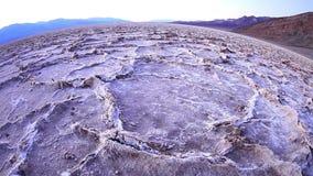 Badlands salt pan at sunset, Death Valley National Park, California. Badlands salt pan at sunset, Death Valley National Park, Mojave desert, California. Taken stock video