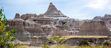Badlands Sandstone royalty free stock photography