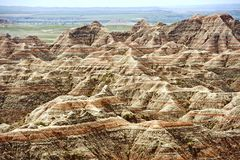 Badlands Scenery, USA Stock Photo
