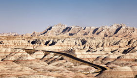 Badlands Stock Photography
