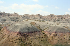 badlands sd Royaltyfria Bilder