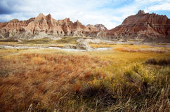 badlands sd Royaltyfri Foto