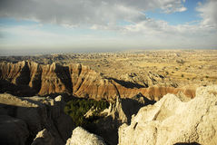 Badlands south dakota. Scenic images of the badlands national park in south dakota Stock Image