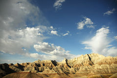 Badlands south dakota. Scenic images of the badlands national park in south dakota Stock Photos