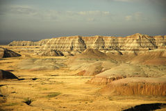 Badlands south dakota. Scenic images of the badlands national park in south dakota Stock Images