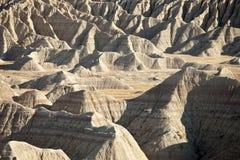 Badlands of south dakota Royalty Free Stock Images