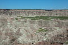 The Badlands. In South Dakota royalty free stock image