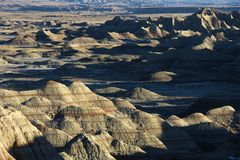 Badlands, South Dakota. Royalty Free Stock Image