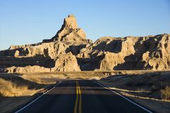 Badlands, South Dakota. Stock Images