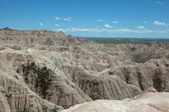 The Badlands. Of South Dakota Stock Photos