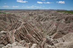 The Badlands. Of South Dakota Royalty Free Stock Photography