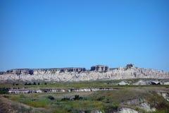 The badlands of south dakota Royalty Free Stock Photos