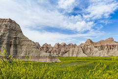 Badlands, South Dakota Stock Photo