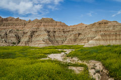 Badlands, South Dakota Royalty Free Stock Image