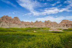 Badlands, South Dakota Stock Image
