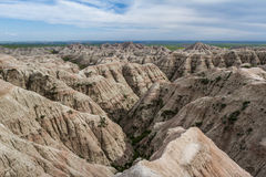 Badlands, South Dakota Royalty Free Stock Images